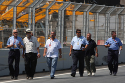 Charlie Whiting, FIA Safty delegate, Race director and offical starter