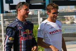 David Coulthard, Red Bull Racing and Jenson Button, Honda Racing F1 Team