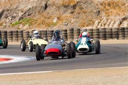 Formula Junior practice action