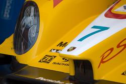 Detail of the Penske Porsche RS Spyder