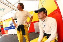 Marcel Fassler and Mike Hezemans