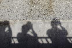 Photographers' shadows