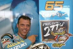 Loris Capirossi fête son 277e Grand Prix