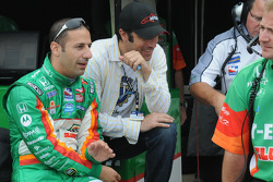 Tony Kanaan and Raphael Matos