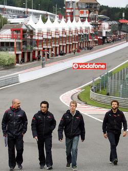 Sebastian Vettel, Scuderia Toro Rosso trackwalk