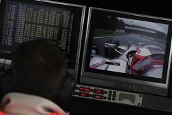 McLaren Mercedes, pitwall
