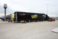 Sarah Fisher Racing hauler