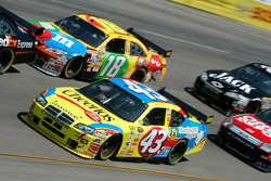 Bobby Labonte and Kyle Busch