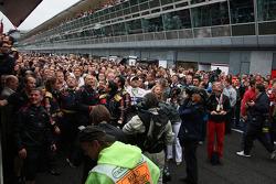 Scuderia Toro Rosso feiert den Sieg