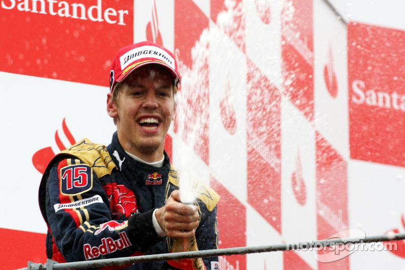 #3: Sebastian Vettel, GP de Italia 2008