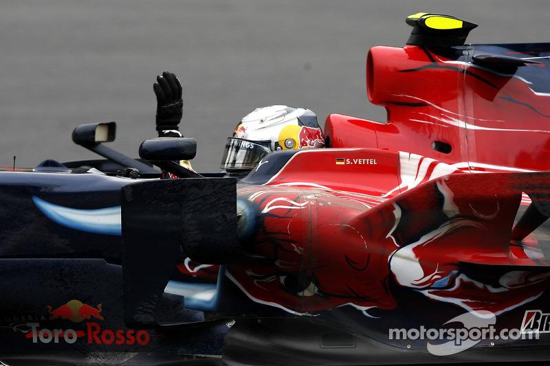 2008 - Sebastian Vettel (Toro Rosso)