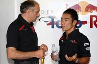 Takuma Sato, Scuderia Toro Rosso with Franz Tost, Scuderia Toro Rosso, Team Principal