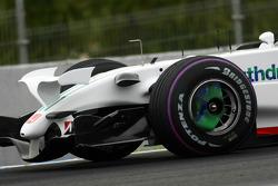Testfahrten in Jerez, September