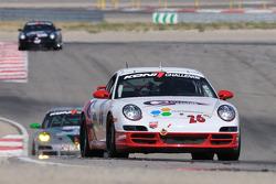 #26 CMAX/ Unitech Racing Porsche 997: David Riddle, Kris Wilson