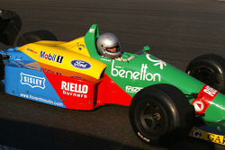 Florent Moulin (F) Ecurie Florent Moulin, F1 Benetton B188 Cosworth 3.5 V8 (formerly driven by S. Nannini)