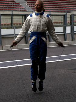 Pre-driving relaxation: Hubertus Bahlsen (D), Ryschka Motorsport