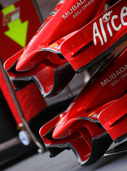 Scuderia Ferrari front wings