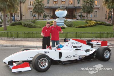 Présentation de l'A1 Team Monaco
