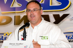Press conference: No. 98 Curb/Agajanian/Team 3G owner Steve Suddler