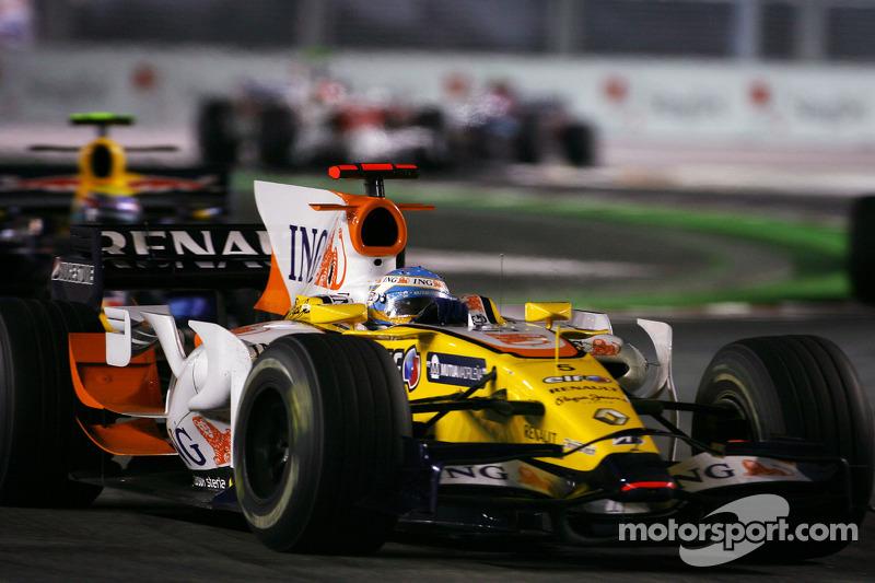 Renault, 2008. La fameuse victoire du crashgate obtenue grâce à l'accident de Piquet Jr