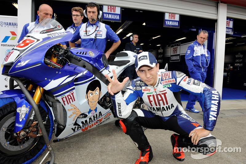 Jorge Lorenzo, Yamaha - Japanese GP 2008