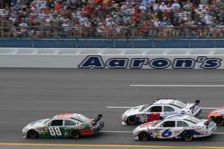 Dale Earnhardt Jr., Travis Kvapil and David Ragan