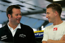 Robby Gordon and A.J. Allmendinger