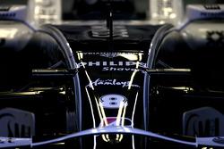 Williams F1 Team body work detail