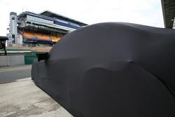 AMG Mercedes C-Klasse under cover