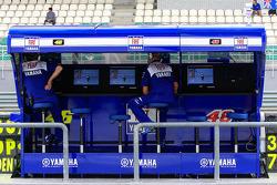 Team Fiat Yamaha pitwall