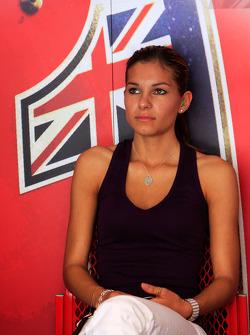 La femme de Casey Stoner, Adriana Tuchyna