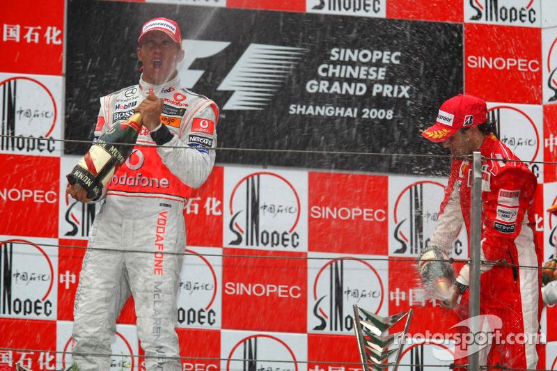 22-Gran Premio de China 2008 (1º), McLaren