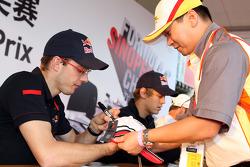 Sébastien Bourdais and Sebastian Vettel