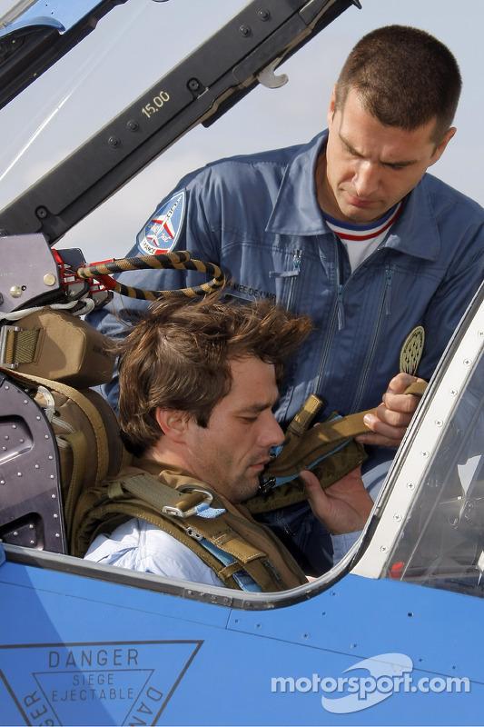 Себастьен Лёб с пилотами
