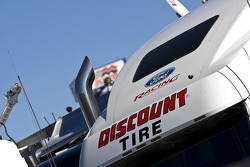 The Discount Tire transporter