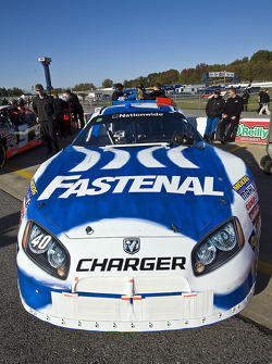 The Fastenal Dodge sits on pit road