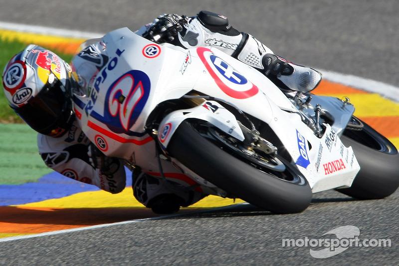 Dani Pedrosa (Honda) - GP de Valencia 2008