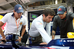 Stock otomobil pilotu Carlos Bueno, Mark Webber ve Stock otomobil pilotu Daniel Serra