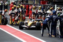 Pitstop, Fernando Alonso, Renault F1 Team