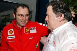 Stefano Domenicali and Norbert Haug