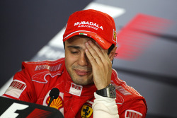 Post-race press conference: race winner Felipe Massa
