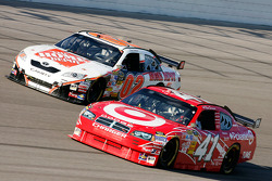 Reed Sorenson and Joey Logano