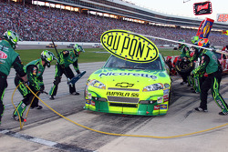 Pit stop for Jeff Gordon