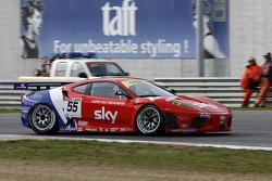 #55 CR Scuderia Ferrari 430: James Sutton, Tim Mullen