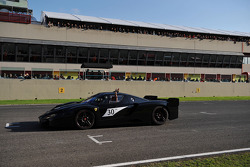Sunday: Luca Badoer and Michael Schumacher