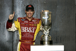 Championship victory lane: 2008 NASCAR Nationwide Series champion Clint Bowyer