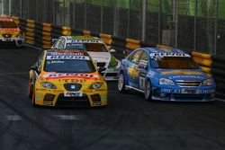 Yvan Muller, SEAT Sport, SEAT Leon TDI, Robert Huff, Chevrolet, Chevrolet Lacetti, Augusto Farfus, BMW Team Germany, BMW 320si