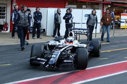 Nico Hulkenberg, Test Driver, WilliamsF1 Team, 2009 interim car