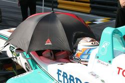 Saturday qualifying pre-race