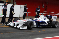 Nick Heidfeld, BMW Sauber F1 Team, Interim 2009 car